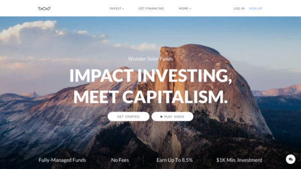 wunder capital impact investing
