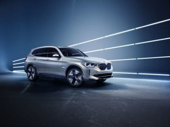 BMW iX3 in China