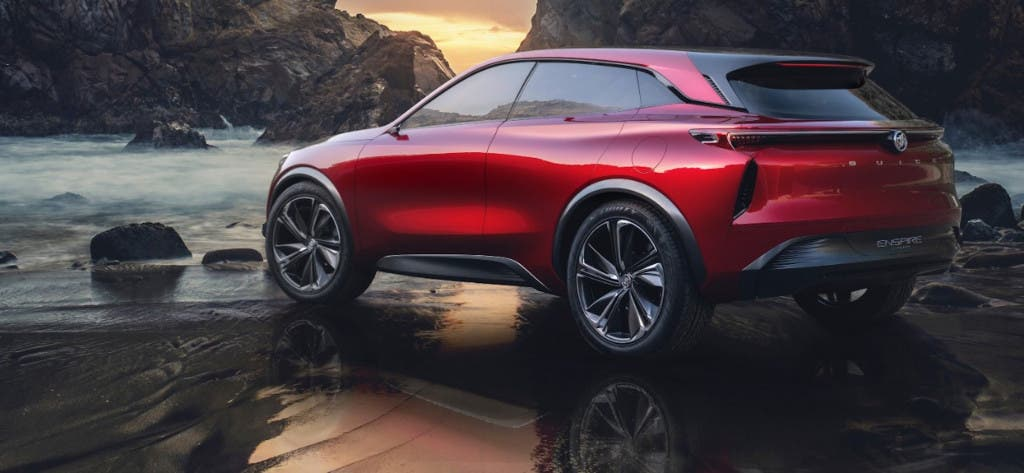 Buick - China - Inspire crossover concept