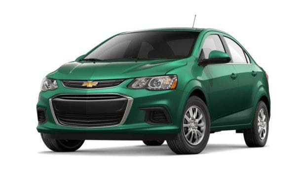 Chevy Sonic, Chevy Impala, Ford Fiesta, & Ford Taurus To