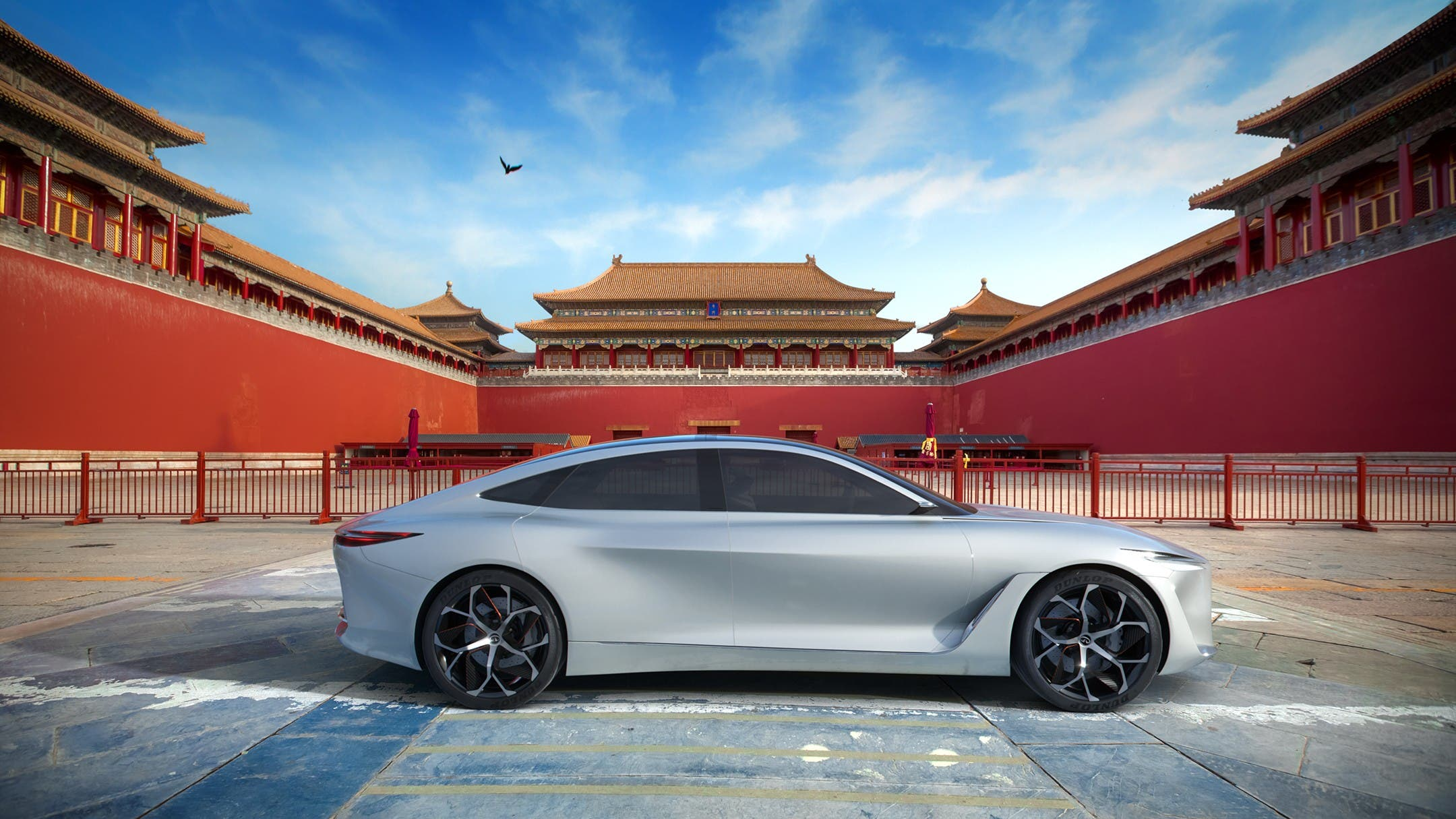 Announced That The Company Is Now In Process Of Developing A New All Electric Vehicle Platform Based Around Q Inspiration Concept Car Design