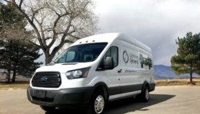 Lightning Systems electric Ford Transit