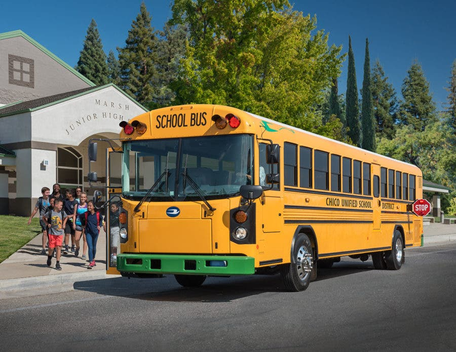 Blue Bird Now Taking Orders For Electric School Buses To