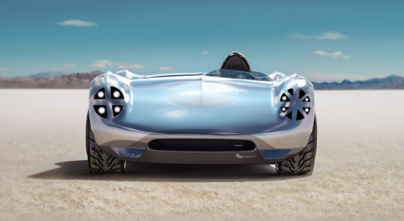 Siemens And Hackrod AI, 3D, VR Electric Roadster