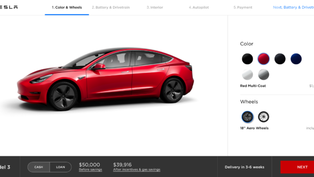 Tesla Reaching Out To US Model 3 Reservation Holders To ...