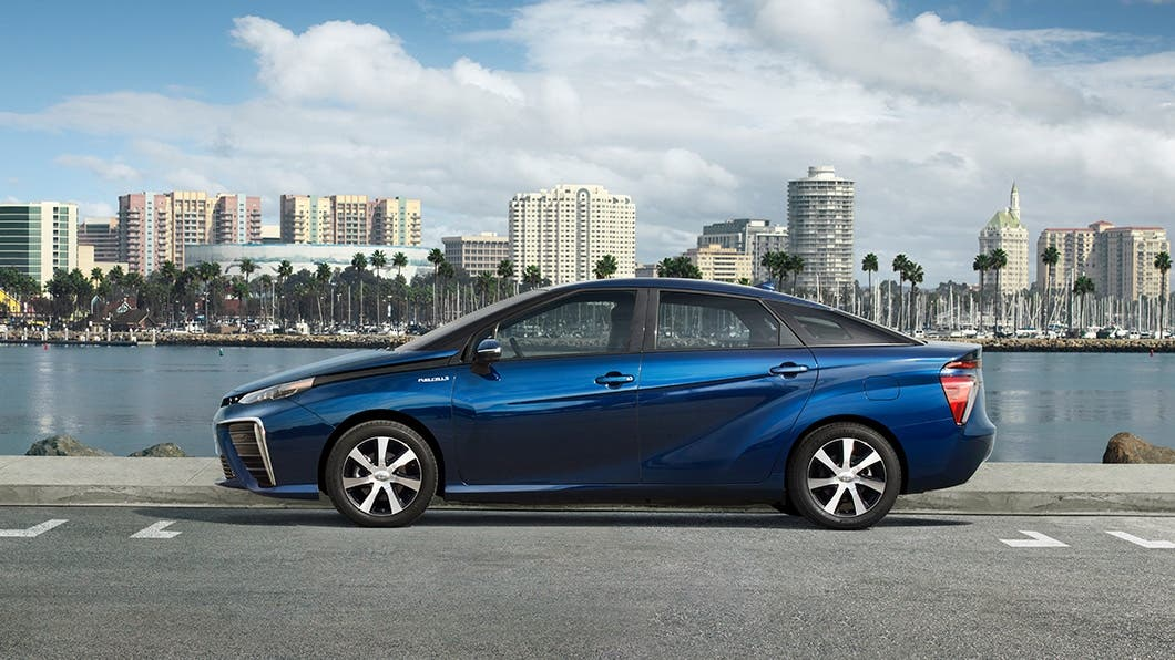 Toyota Mirai Hydrogen Fuel Cell Vehicle Review Cleantechnica