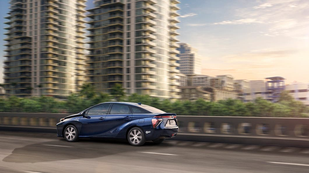 Toyota Mirai Hydrogen Fuel Cell Vehicle Review