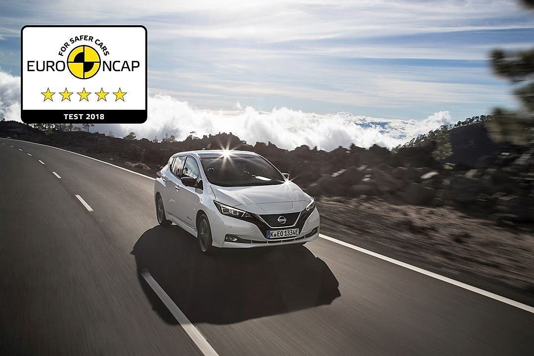 2018 Nissan Leaf Wins 5 Star Safety Rating In New More Rigorous Euro Ncap Crash Tests