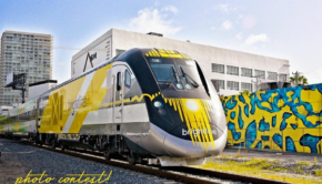 Brightline Miami Fast Train U.S.