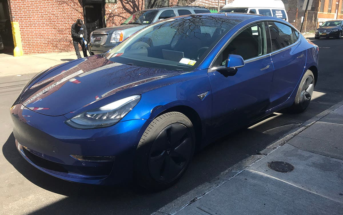 Here's What $7,000 Of Damage Looks Like On A Tesla Model 3