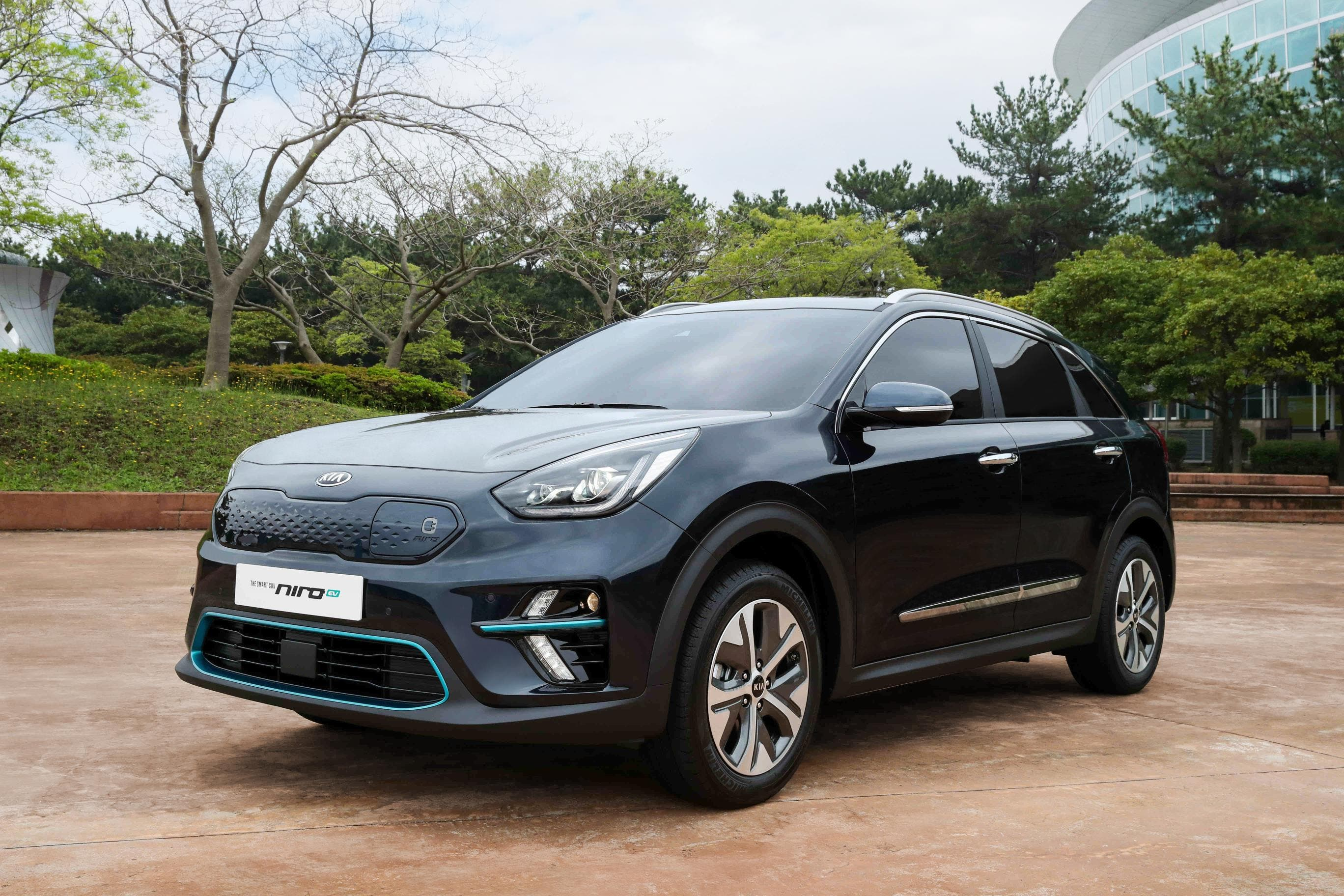 kia niro electric now on sale in korea features choice of battery size cleantechnica. Black Bedroom Furniture Sets. Home Design Ideas