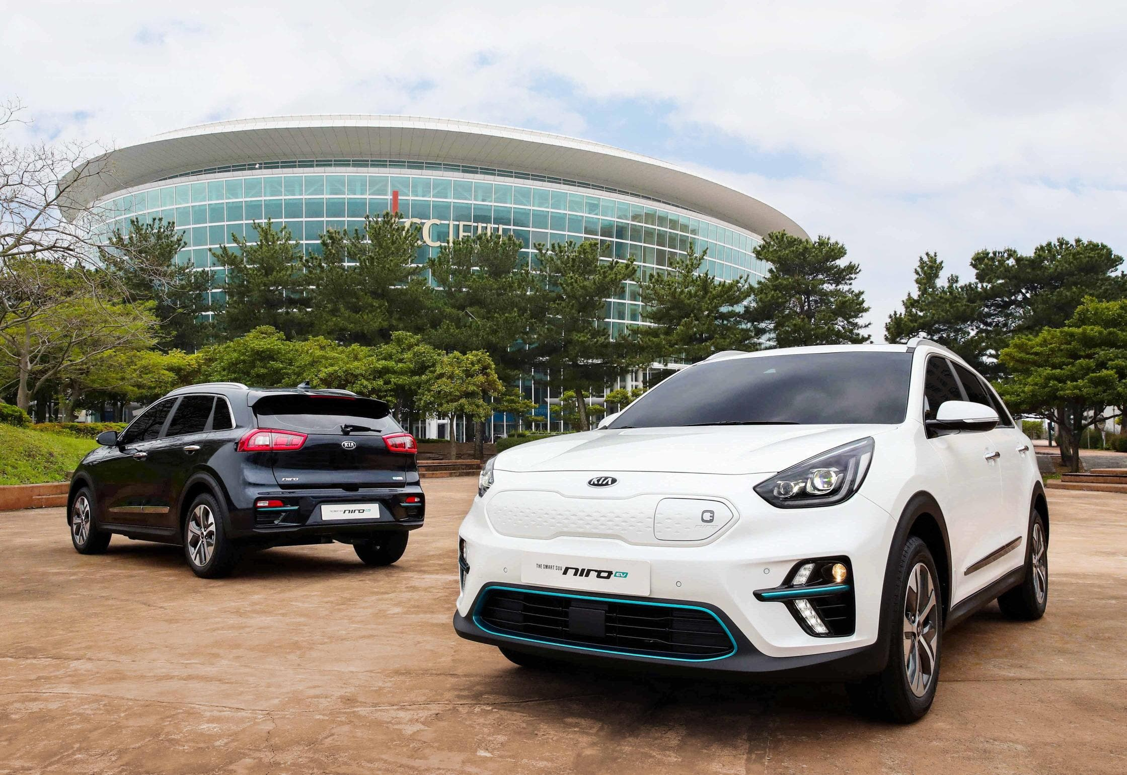 At The Ces 2018 Show Kia Showed Off A Battery Ed Concept Of Niro Which Is Already Available As Hybrid Or Plug In