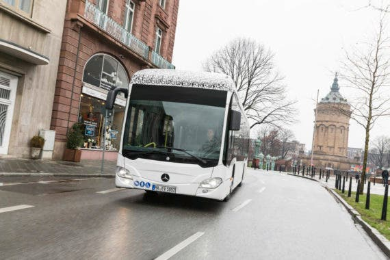 Electric Buses Solve Urban Problems