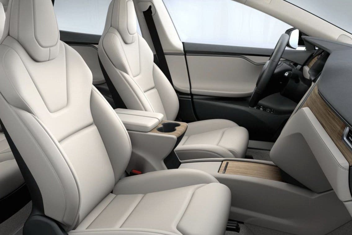 Tesla Model S Interior >> New Tesla Interior Options Include The Best Ever Cleantechnica