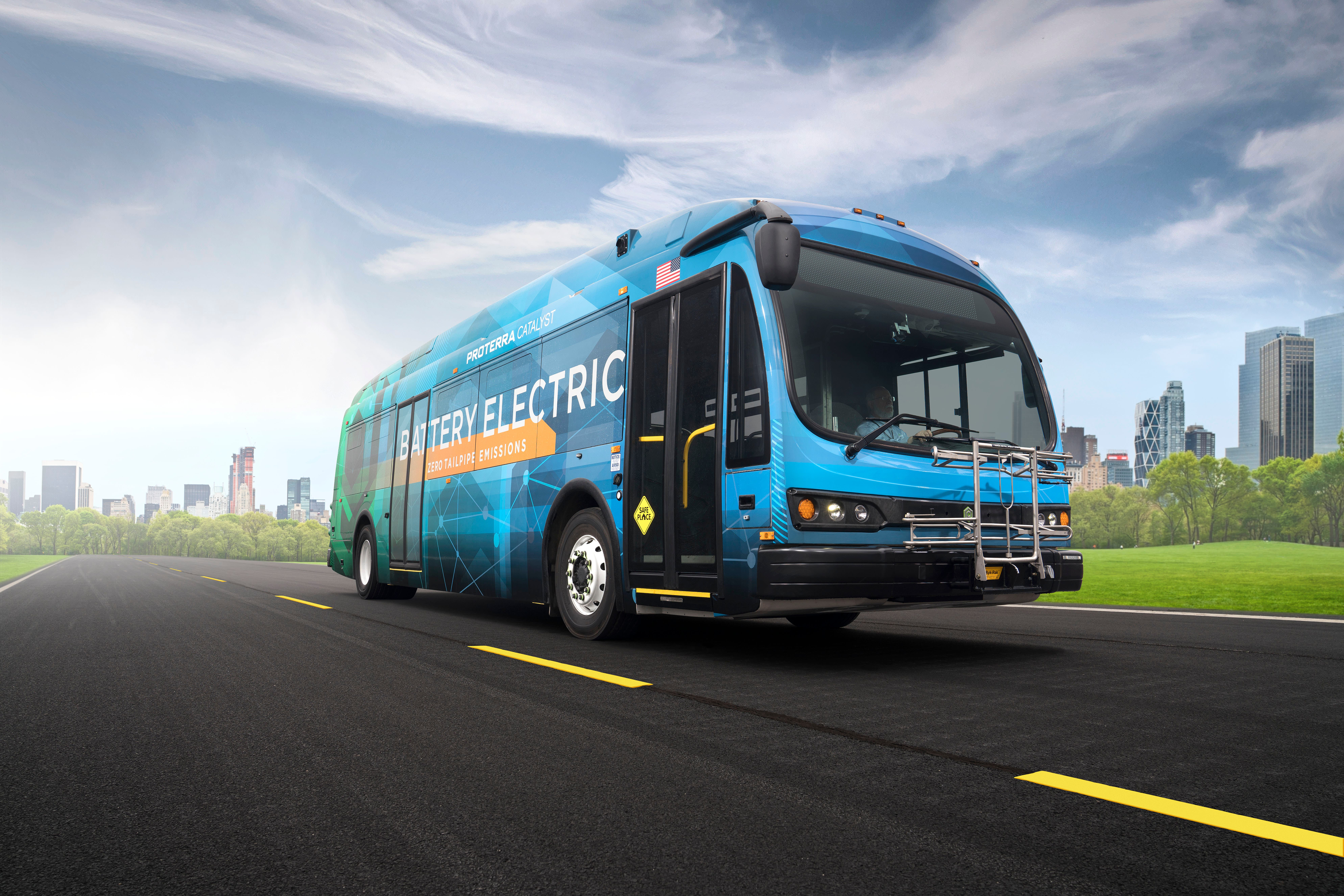 Proterra electric buses