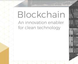 Blockchain: An innovation enabler for clean technology