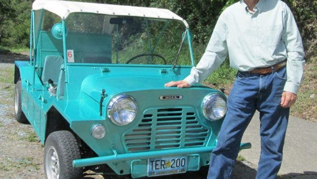 A Man And His Mini Moke -- The Story Of An Exotic EV Conversion