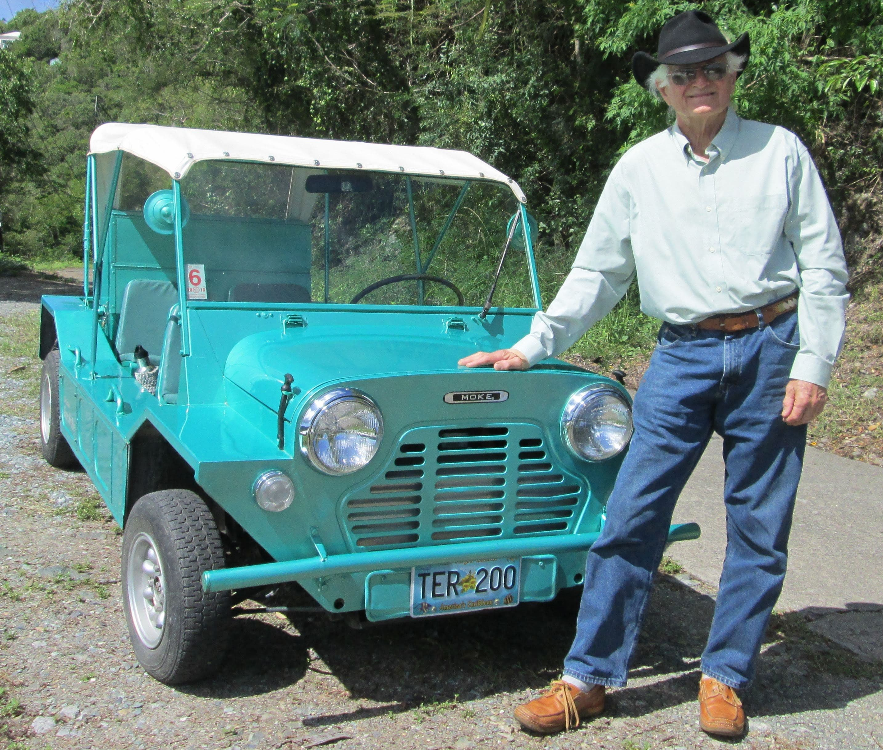 But Hey I Was Wondering One Thing Michael Bream From Ev West Said In The Video That He Would Deliver Mini Moke Personally Did