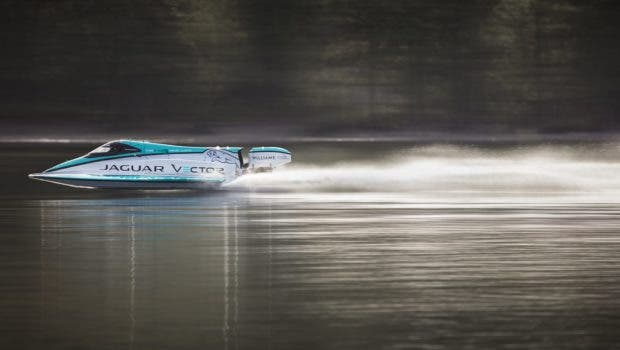 Jaguar Breaks Speed Record But Not On Land With