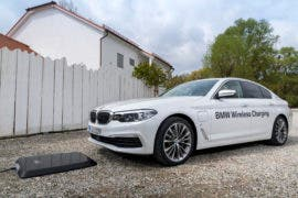 BMW 530e iPerformance Wireless Charging System