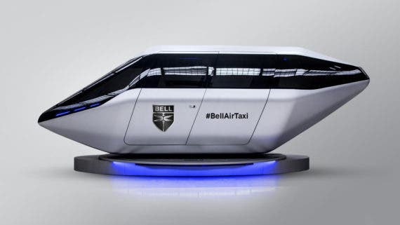 Safran & Bell Helicopter Air-Taxi eVTOL