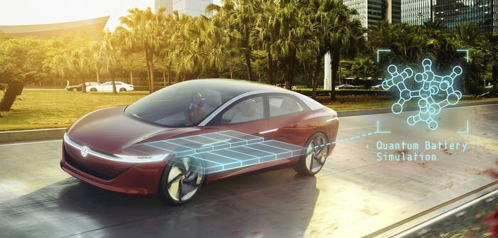 Volkswagen Turns To Quantum Computers For Advanced Battery
