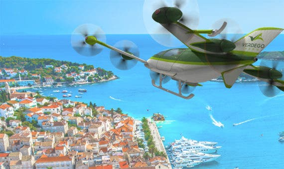 Electric air mobility hybridization