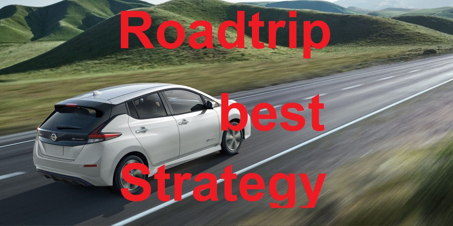 2018 Leaf vs Long Journeys — Best Driving Strategy