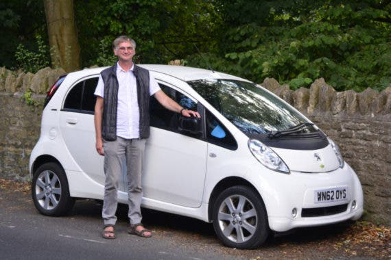 My Inter-city car, and me at Frome