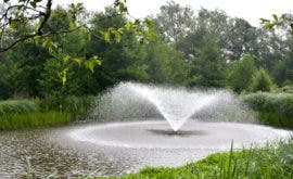 Water Feature at Hopwood Park