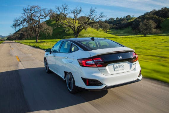 honda clarity fuel cell white