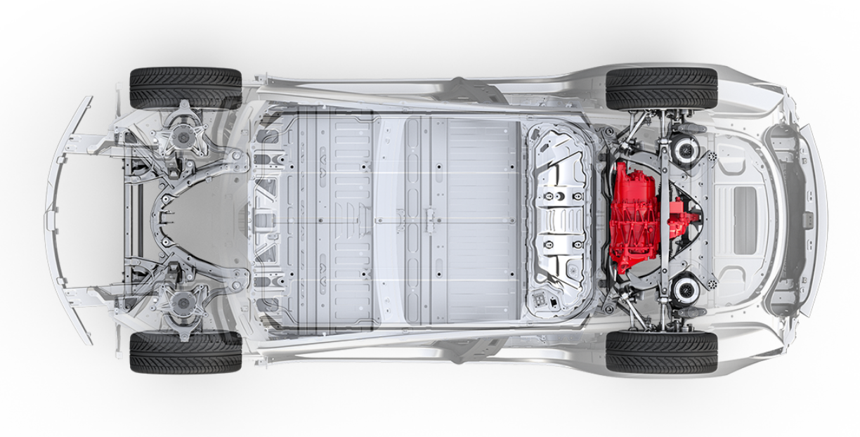 Tesla Model 3 battery pack