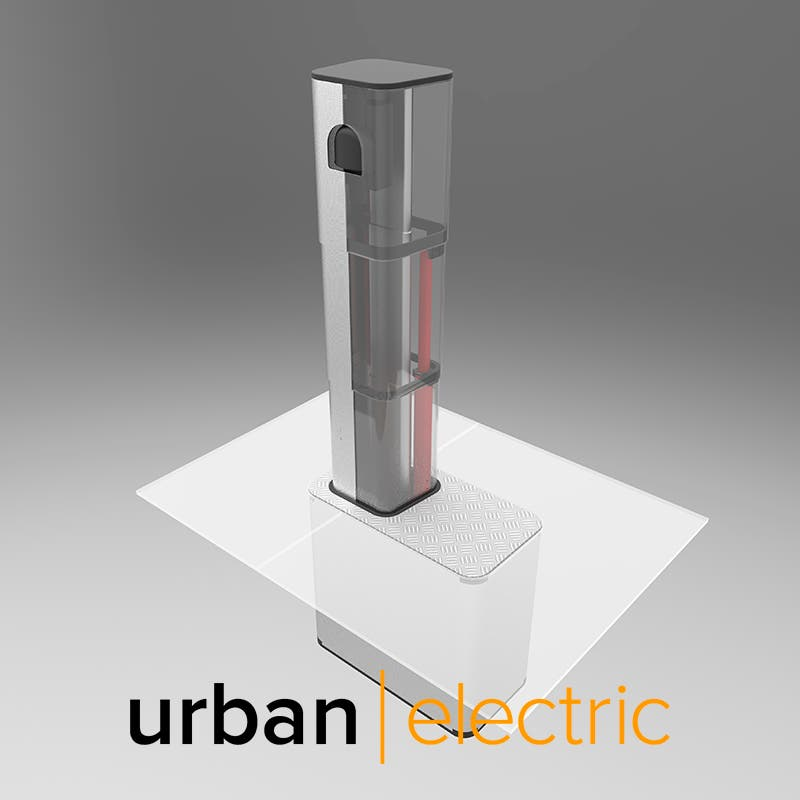 Urban Electric's Pop-Up Charge Point Could Solve Curbside