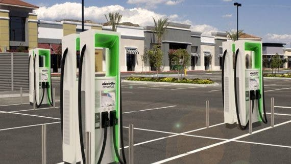 Electrify America chargers