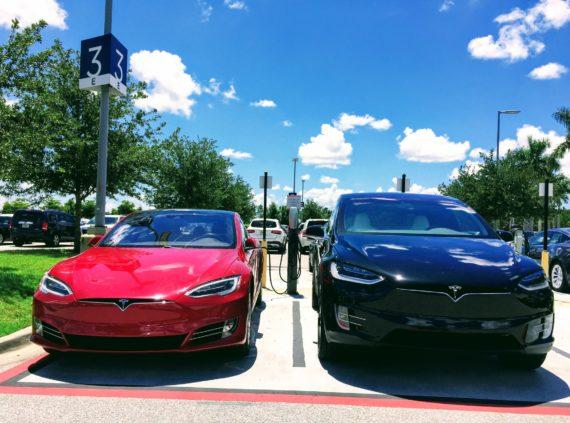 Tesla autonomous network