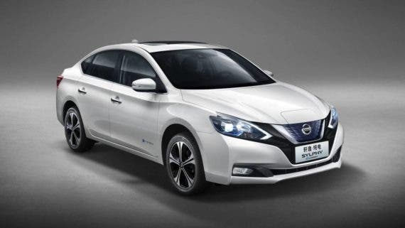 Nissan Sylphy ZE electric car