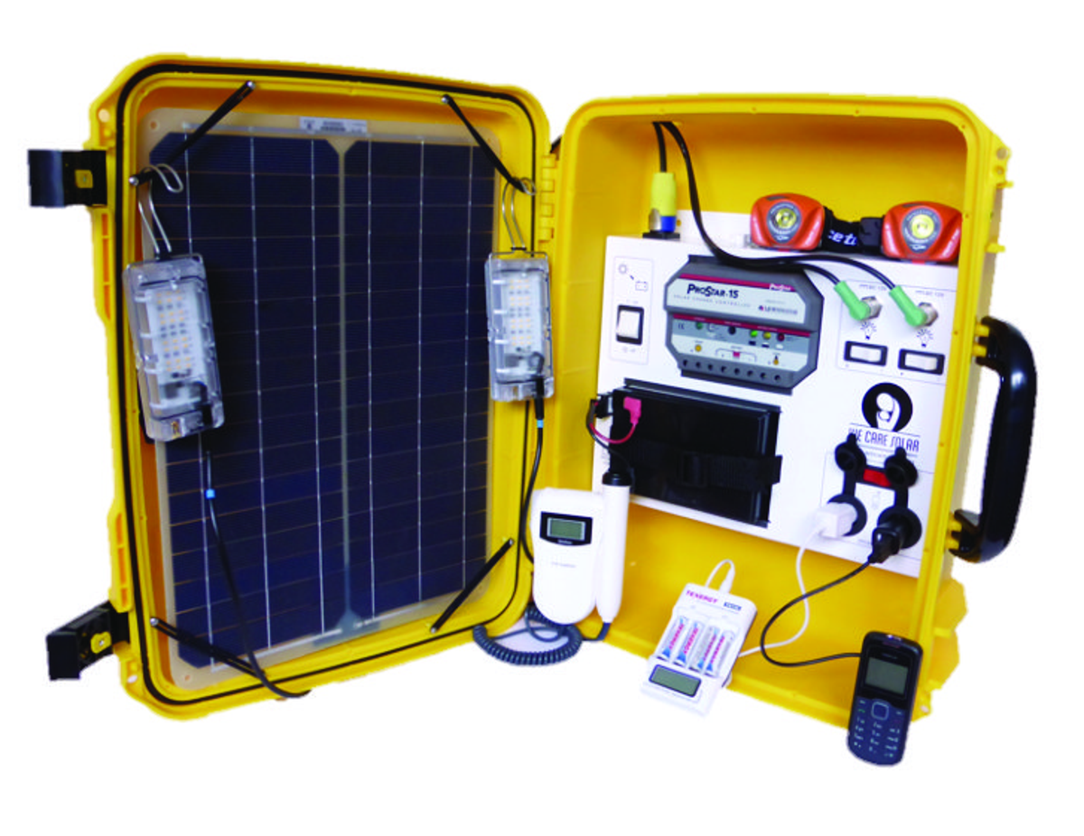 Image result for solar suitcase