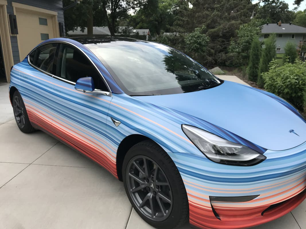 10 Awesome Tesla Model 3 Paint Wrap Jobs