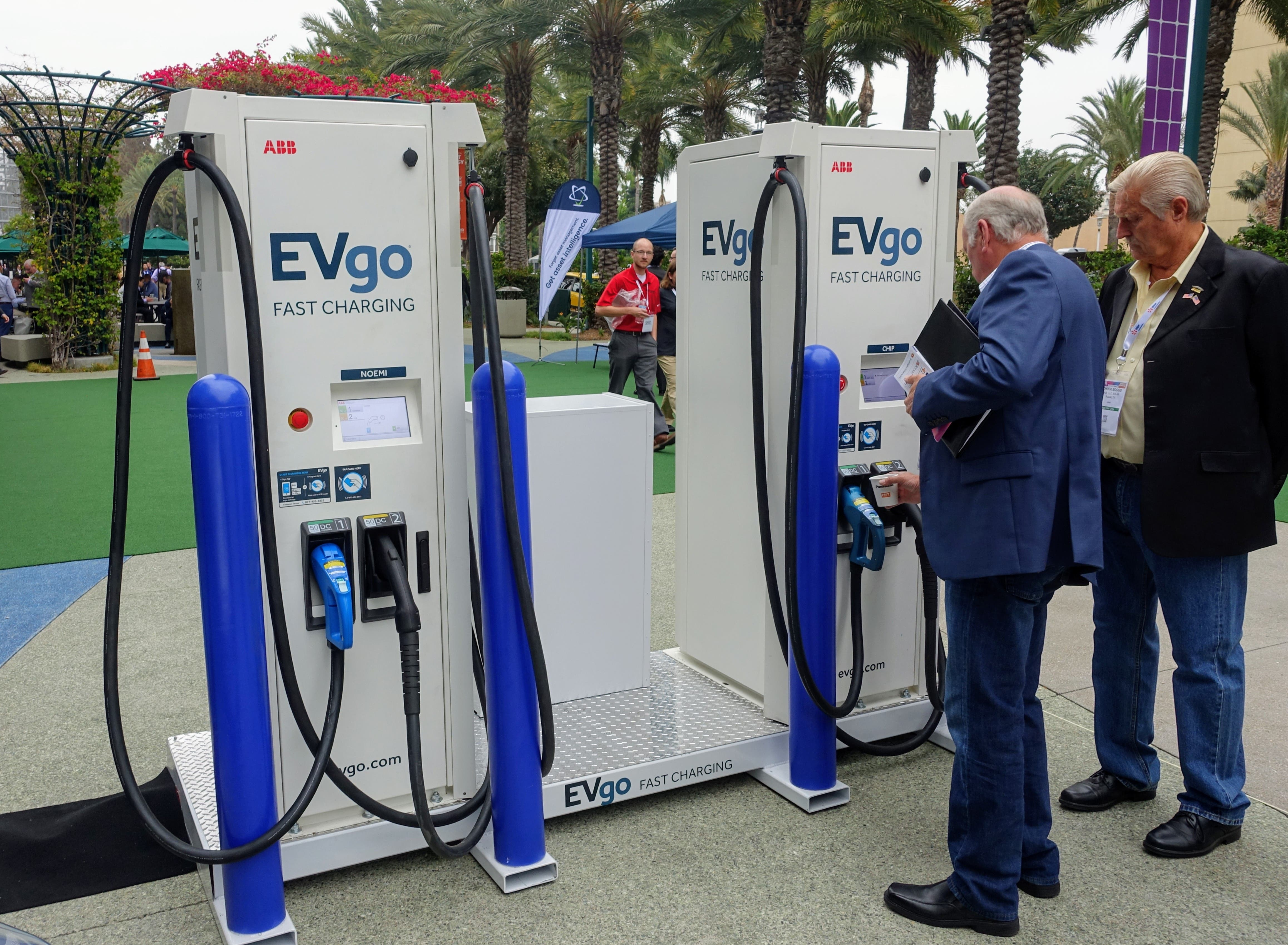 Evgo Charging Stations >> Renewables Secured Evgo Contracts 100 Renewables For