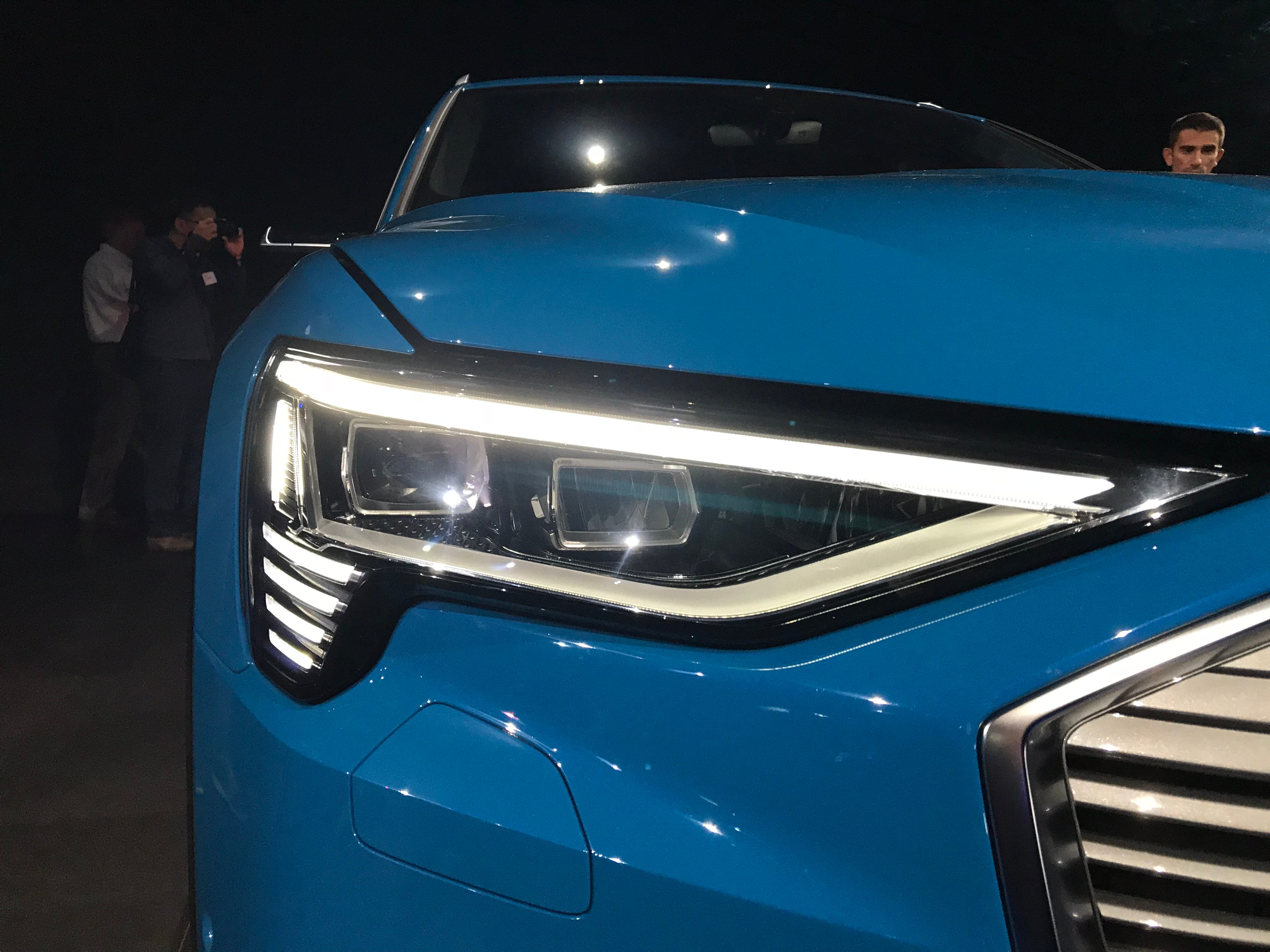 Just Yet What The E Tron S Range Will Be But Audi Of America President Scott Keogh Said Car Have Well Over 400 Kilometers On