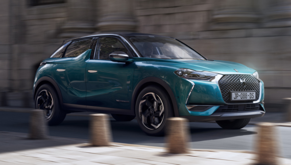 PSA DS 3 E-Tense electric SUV