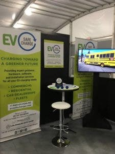 Portable fast EV charger