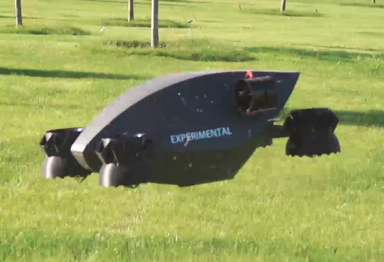 HoverSurf eVTOL Drone Taxi