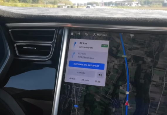 """Tesla Rolling Out """"Navigate On Autopilot"""" To North America """"Soon"""" #ElonTweets"""