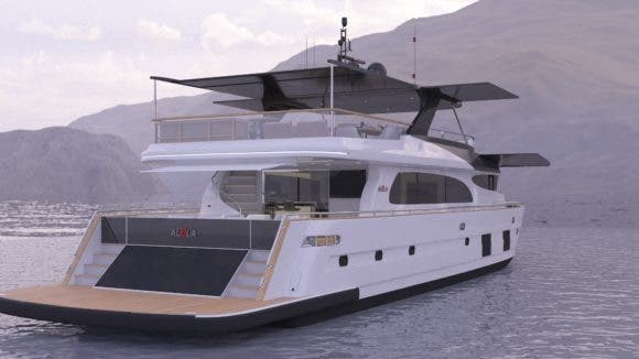 100% Electric Yacht Under Construction For 2019