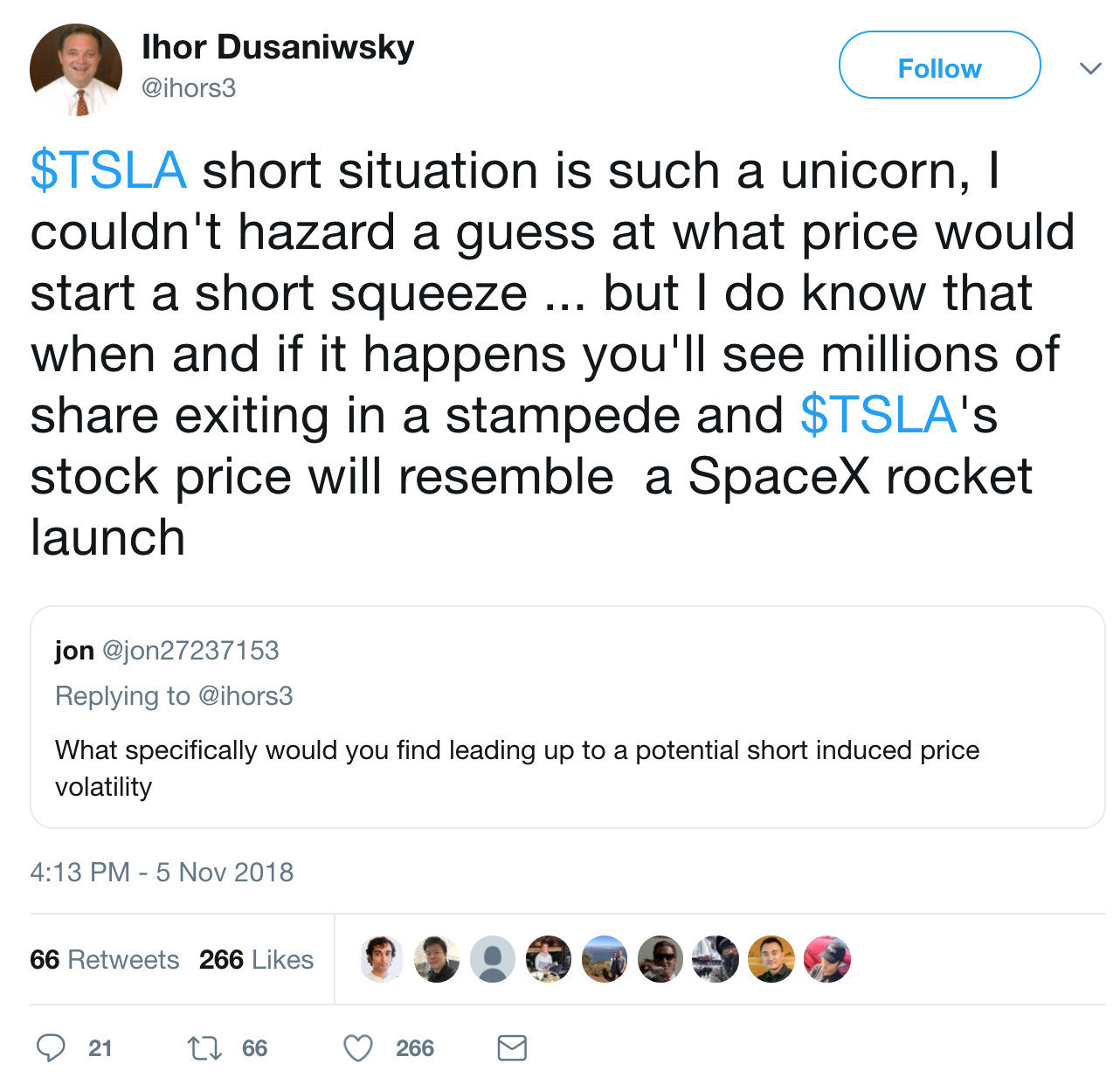 Insane Tesla Short Story — Is A Short Squeeze Coming On