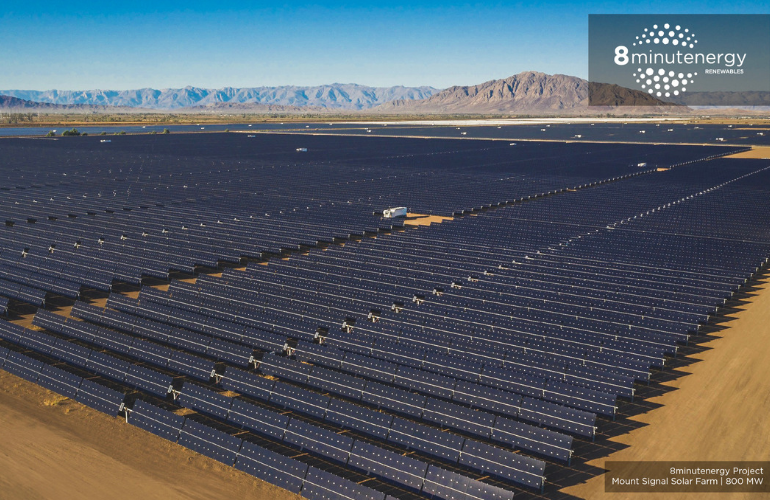 8minutenergy Renewables Completes 328 Megawatt Solar Farm, Celebrates By Being Bought Out By Co-Founder