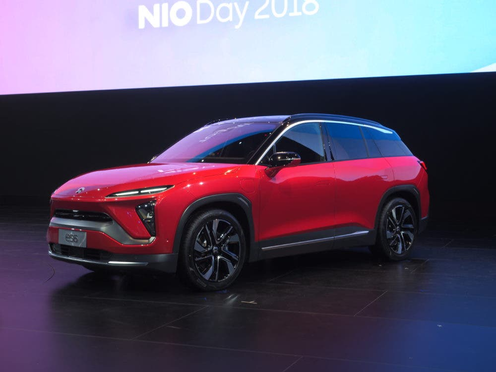 Nio Officially Launches Nio Es8 Battery At Nio Day 2018