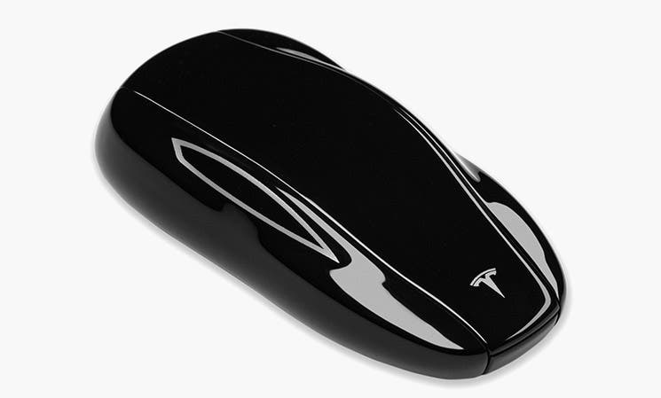 Tesla's Model 3 key fob allows you to lock, unlock and drive your vehicle without relying on the Tesla app or key card.