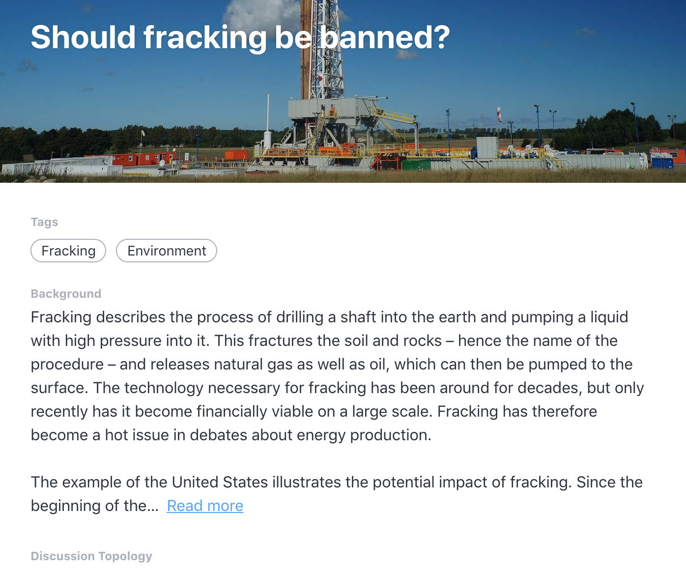 Should Fracking Be Banned Let S Talk About It